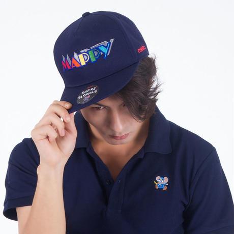 MAPPY Snapback Cap  (NAVY)