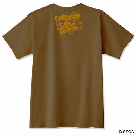 【SEGA HARD GIRLS x DREAMCAST】 Tee  -Brown-