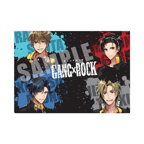GANG×ROCK クリアファイル Odin;s