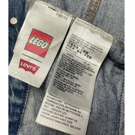LEVI'S PREMIUM × LEGO コラボレーションデニムジャケット ライトインディゴ Mサイズ