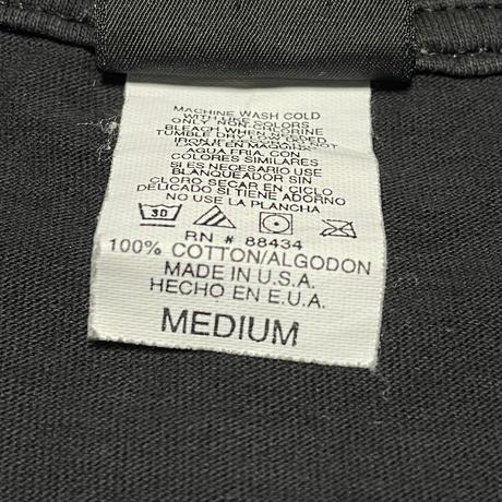 MADE IN USA製 AERO SMITH アーティストTシャツ giantボディ ブラック Mサイズ