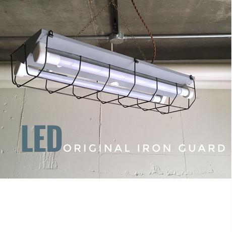 8台セット【GR-2L20GH】ロングタイプ (直付け用)  2灯LEDライト つや消しグレー