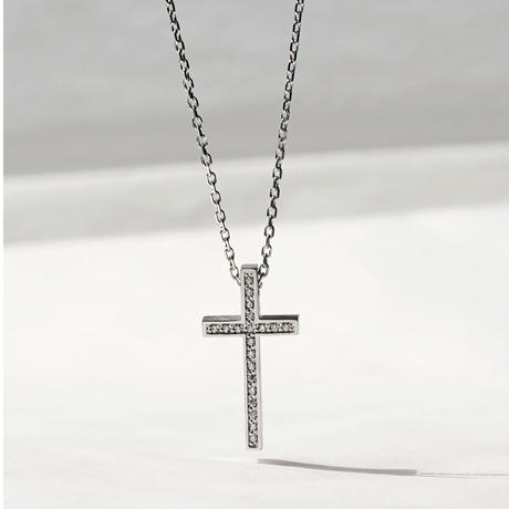 TWO ME CROSS (S) NECKLACE