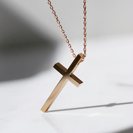 TWO ME CROSS NECKLACE (P)
