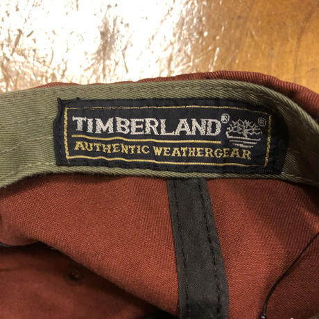 [USED]Timberland DARK RED CAP!