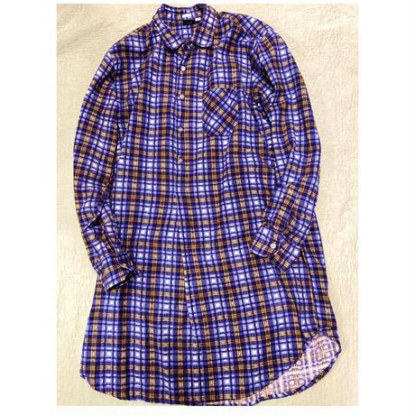 [USED] Euro ネルシャツワンピ / グランパシャツ