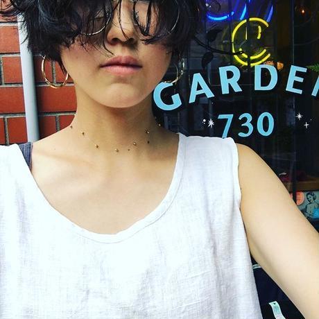 [Aquvii] point necklace