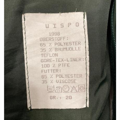 [USED] ドイツ GORE- TEX  ポリスコート ライナー付き