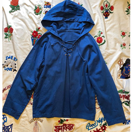 [USED]  編み上げ COTTON Hooded JKT