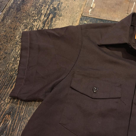 [USED]  WORK SHIRTS !! BROWN