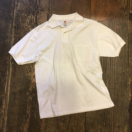 [USED] Hanes ポケット ポロシャツ