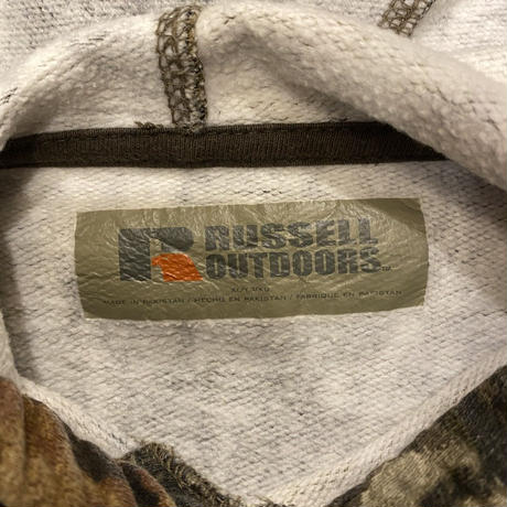 [USED]  カモ柄 RUSSELL  PARKA