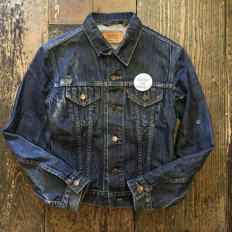 [USED] LEVIS  'FOR GIRLS'  Gジャン