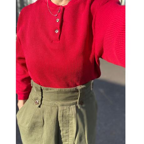 [USED] かわいい~♡ 赤いサーマル