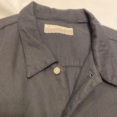 [USED] 大きめブラック半袖 SHIRT