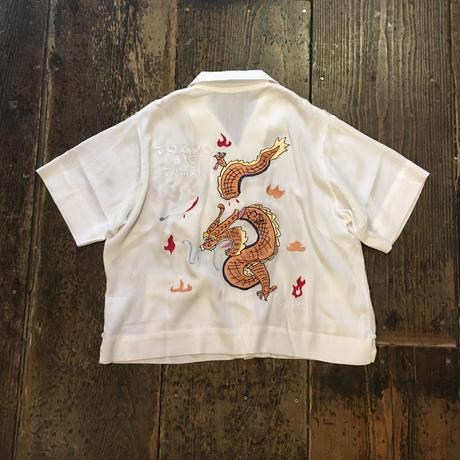 [I&ME] レーヨンBowling Shirts