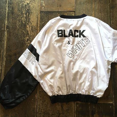 [USED] ふわふわ BLACK&WHITE プルオーバー
