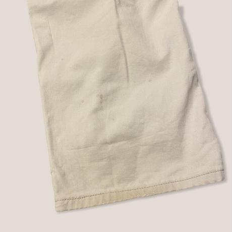 [USED] Lee IVORY PAINTER PANTS!