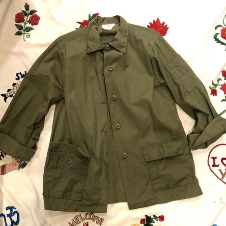 [DEADSTOCK] 70's ! U.S.ARMY WOMEN's  ファティーグシャツ