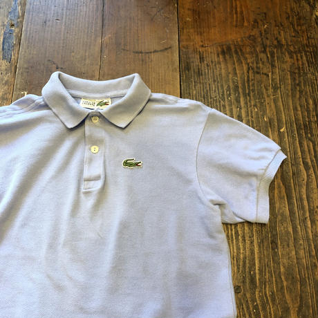 [USED] French LACOSTE ミニポロ