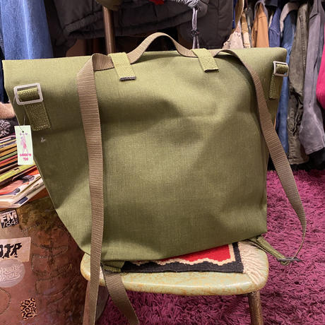 [DEADSTOCK] デンマーク 3way MILITARY BAG