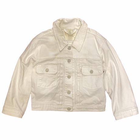 [USED] Levi's WHITE DENIM JACKET♡