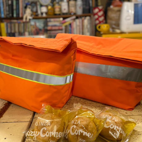 [besidethebag] neon potato ORANGE BAG