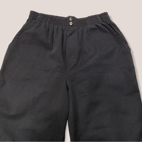 [USED] BLACK EASY PANTS!