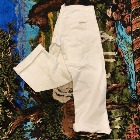 [USED] EURO Carhartt WHITE-Pants