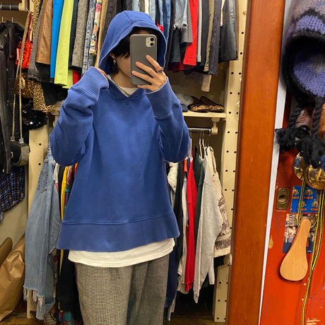 [USED] NIKE BLUE PARKA♡