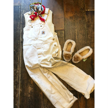 [USED] Carhartt WHITE オーバーオール