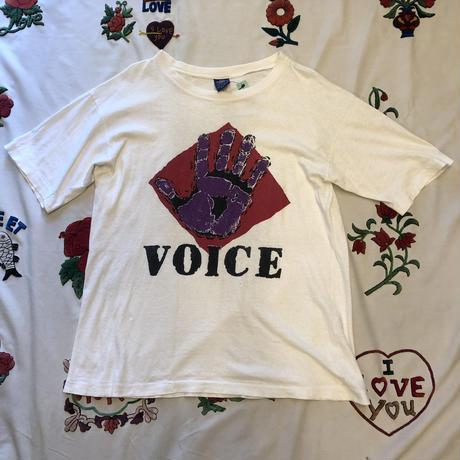 [USED] vintage VOICE プリントTee