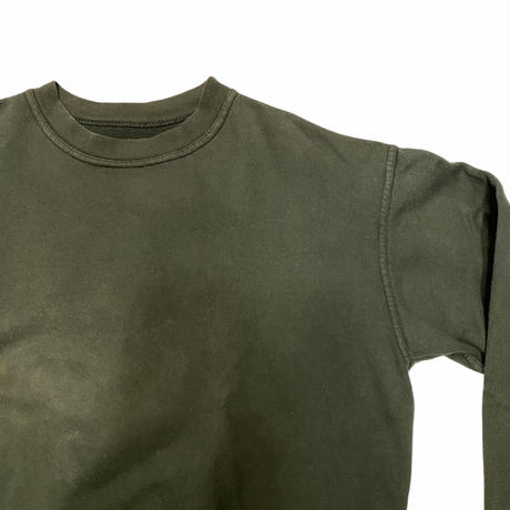 "[USED] ""CHUMS"" OLIVE-GREEN SWEAT!"