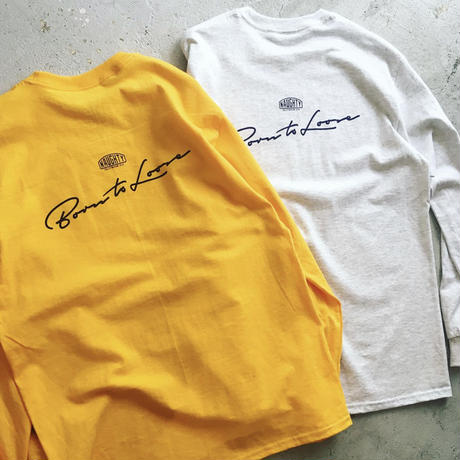[Naughty] BORN TO LOOSE L/S Tee