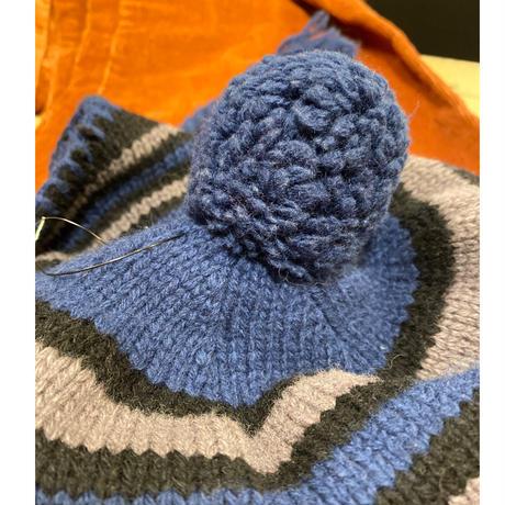 [USED] Patagoniaニット耳あて帽