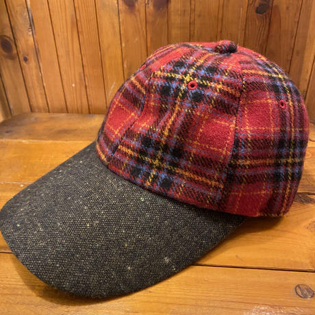 [USED] CHECK WOOL CAP