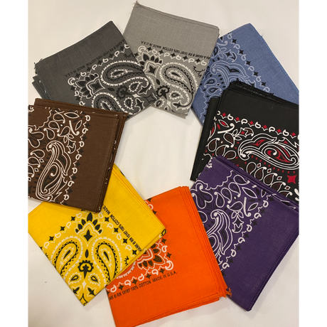 [SELECT] ペイズリーBANDANA  made in USA.