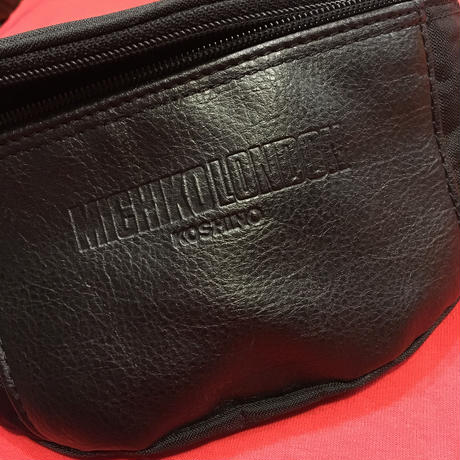 [USED] レザー×ナイロン ウエストPOUCH