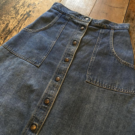 [USED] OLD  Denim skirt