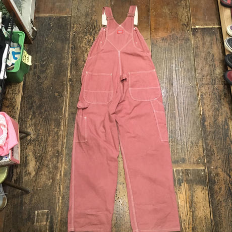 [USED]  Dickies  PINK♡オーバーオール