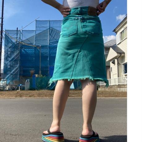 [USED]  Levi's501 リメイクデニムスカート