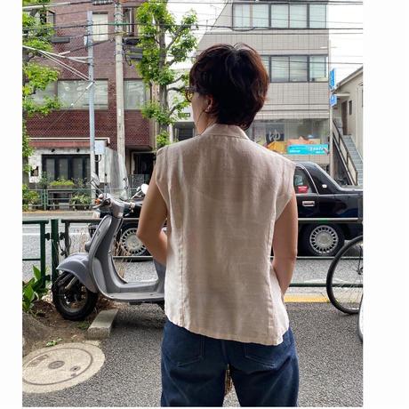 [USED] ノースリーブチャイナシャツ  🇨🇳