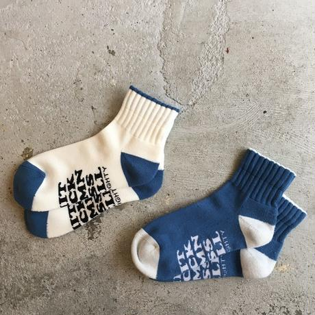 "[Naughty × ching & co.] ""BEST5 QUARTER SOCKS"""