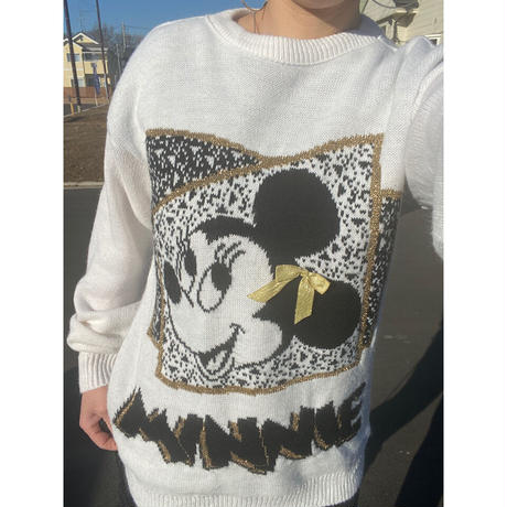 [USED]  OLD Disney ニット❤️