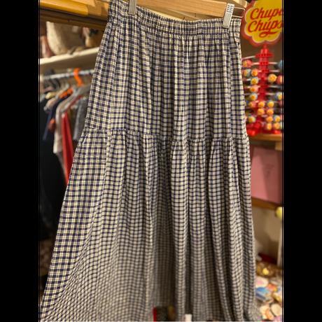 [USED] ギンガムスカート