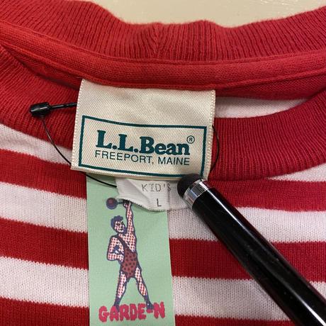 [USED] L.L.Bean ボーダー S/S Tee!