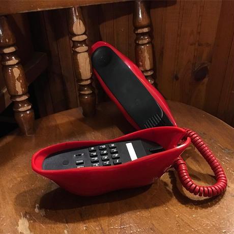 [DEADSTOCK]  アメリカ物  くちびる 電話機