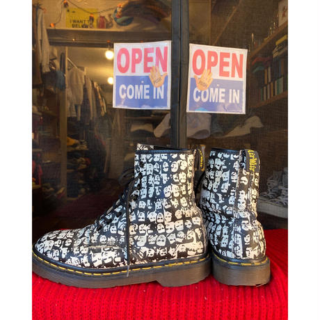[USED] Dr.Martens  総柄 8HOLE  made in England!