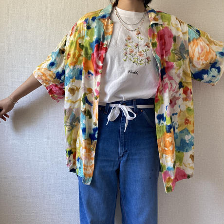 [USED] made in HAWAII♡ご機嫌レーヨンシャツ