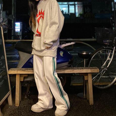 [USED] ジャージ風ラインPANTS♡